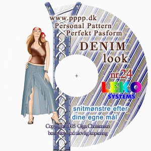 CD-rom no. 24 - Denim look
