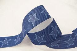 Star elastic, blue 3cm