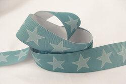 Star elastic, dusty green 3cm