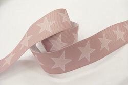Star elastic, old rose 3cm
