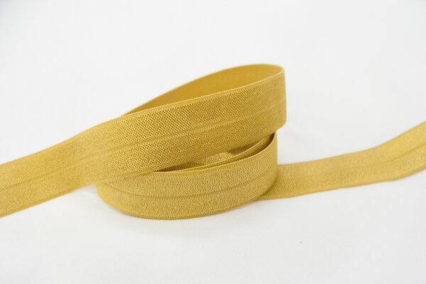 Elastic bias drape brass 2cm