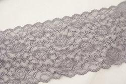 Lace elastic grey 15cm