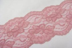 Lace elastic gammelrosa 10cm