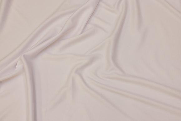 White, lightweight polyesterjersey for dresses etc.