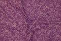 Light purple cotton with spungy batique-style.