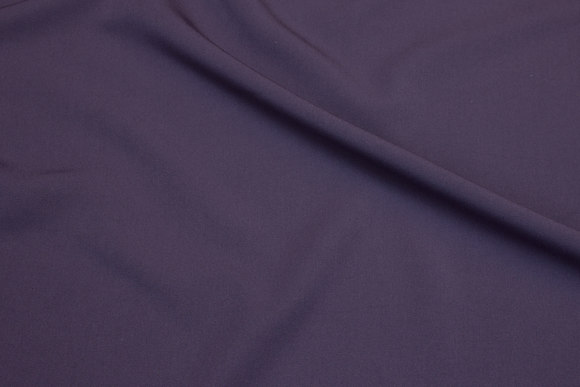 2-way stretch gabardine in dusty-purple
