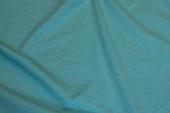 Mint-green cotton-jersey