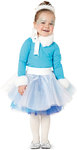 The embellished shirt and the multi-ply tulle skirt with elasticated waist are the basis of three most striking Carnival costumes, which make little girls