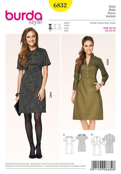 Dress, Shoulder Patches
