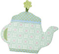 Colorful pot holders in different designs or oven mitts and barbecue gloves in a pattern mix are not only practical and decorative helpers in the kitchen, but also nice gifts when going to a tea party, for instance. A special inside fleece provides heat protection.