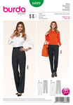 Well fitted pants are particularly important for petite women and ideal companions to combine. Sew your favorite variant with crease and slant pockets in the slender cut or with fuller, straight legs.