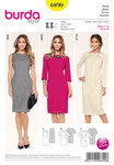Burda 6890. Dress, Shift Dress.