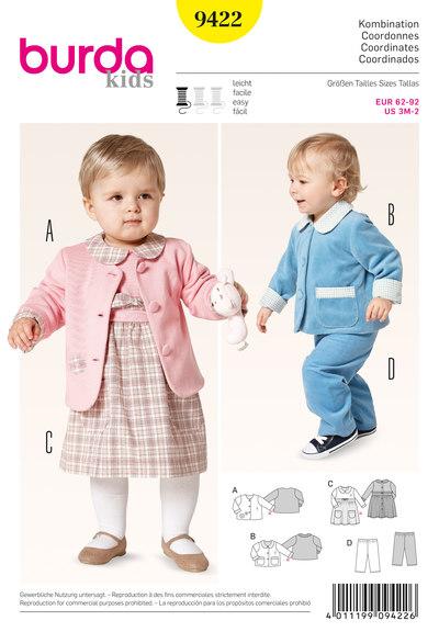 Coordinates: Jacket, Dress, Pull-on Pants