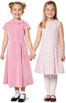 Smart and dressy pieces in two lengths, with two box pleats each in the front and the back, adding swing to the hem. Three different variants for every taste and occasion, whether for an outdoor festival in Summer or an indoor children