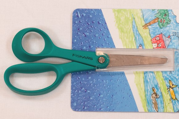 Fiskars shears left hand version