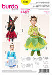 Burda 2371. Witch Elf, Ice Princess, Fairy.