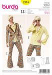 Burda 2374. 70s Party Suit, Men.