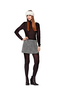 Short skirt. Burda 8237.