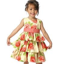 Butterick 6161. Dress for girls.