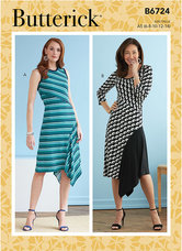 Dresses. Butterick 6724.