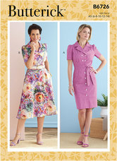 Dresses. Butterick 6726.