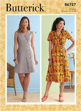 Dresses. Butterick 6727.