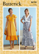 Dresses. Butterick 6728.
