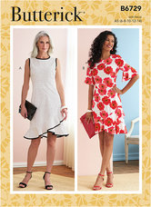 Dresses. Butterick 6729.