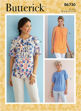 Top. Butterick 6730.