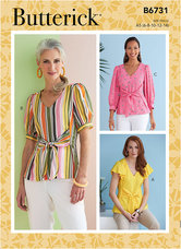 Top. Butterick 6731.