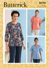 Top. Custom Cup Sizes. Butterick 6732.