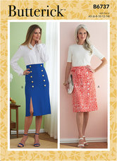 Skirts. Butterick 6737.