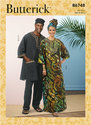 Mens Tunic, Caftan, Pants, Hat and Head Wrap