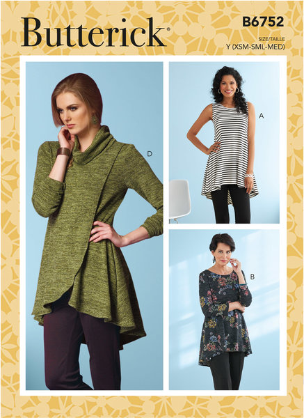 Fit and Flare Knit Tunics