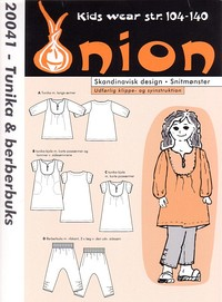 Tunic and pants. Onion 20041.