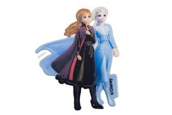 Anna and Elsa iron-on-patch ca. 8 x 5 cm