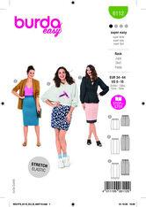 Skirt. Burda 6112.