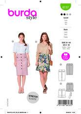 Skirt. Burda 6137.