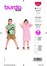 Top, Dress. Burda 9282.