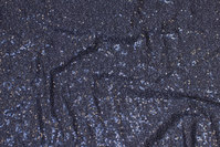 Dark grey jersey with sewn-on grey mini-sequins