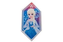 Elsa iron-on-patch pentagon ca. 8 x 4 cm