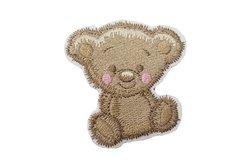 Iron-on-patch, teddy ca. 5 x 4 cm