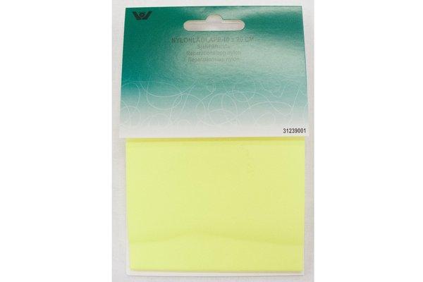 Lemon-yellow nylon repair-patch 10 x 20 cm
