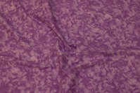 Light purple cotton with spungy batique-style