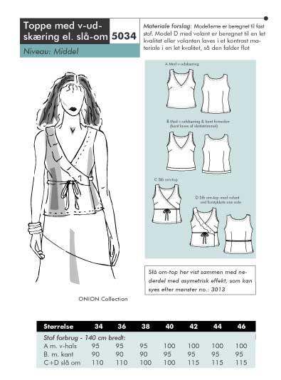 Wrap-around shirt
