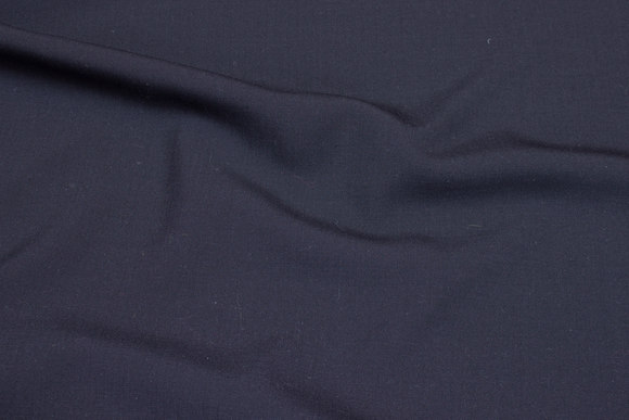 Thin mousselin in dark navy