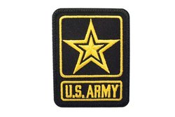 Us army iron-on-patch ca. 8 x 6 cm