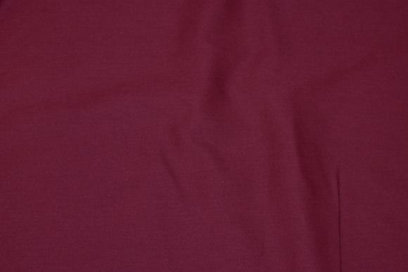 Wine-red cotton-twill