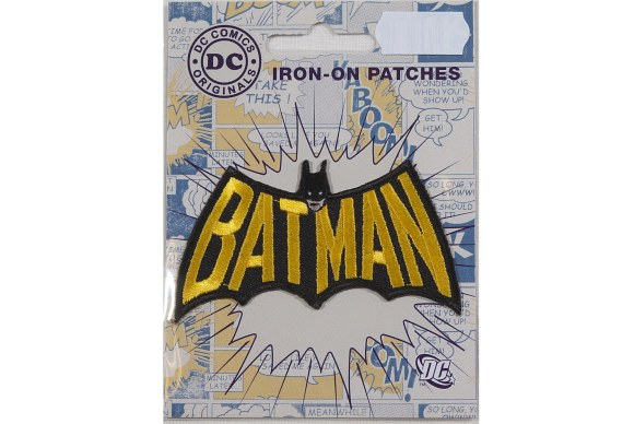 Batman logo ironing patch