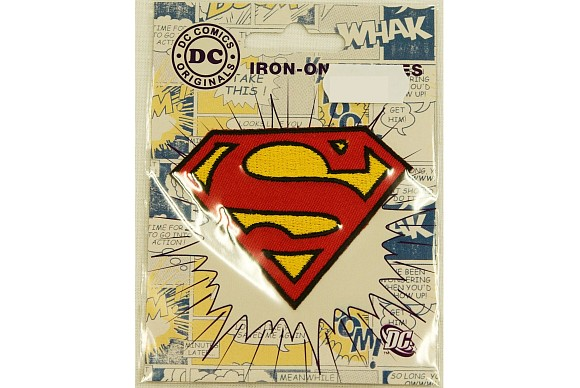 Superman symbol ironing patch